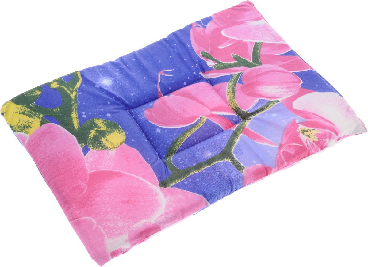 Лежак для животных Elite Valley Матрасик, цвет: фиолетовый, розовый, 30 х 45 см. Л-7/2Л-7/2 фиолетовый, розовыйЛежак для животных Elite Valley Матрасик изготовлен из высококачественной бязи, наполнитель - поролон. Идеален для переносок и использования в автомобиле. Он станет излюбленным местом вашего питомца, подарит ему спокойный и комфортный сон. Высота матраса: 2 см.