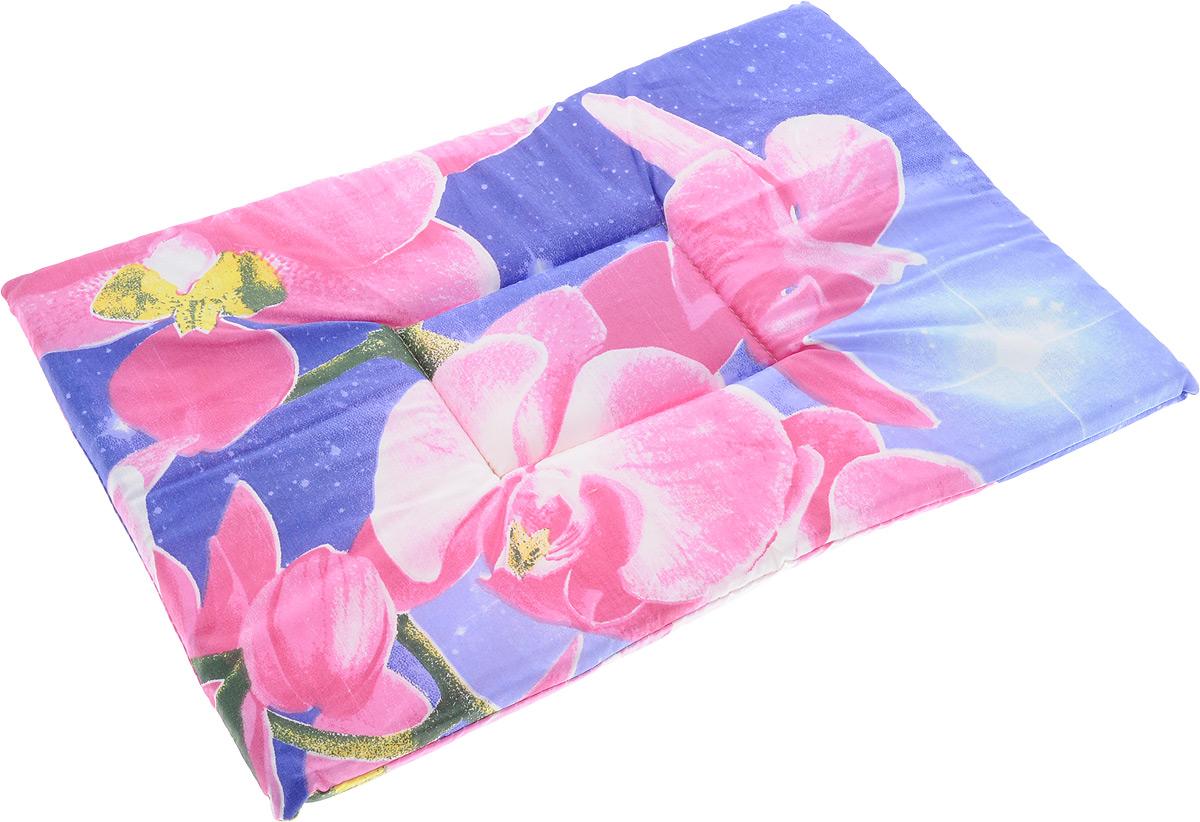Лежак для животных Elite Valley Матрасик, цвет: фиолетовый, розовый, 35 х 50 см. Л-7/3Л-7/3_фиолетовый, розовыйЛежак для животных Elite Valley Матрасик изготовлен из высококачественной бязи, наполнитель - поролон. Идеален для переносок и использования в автомобиле. Он станет излюбленным местом вашего питомца, подарит ему спокойный и комфортный сон. Высота матраса: 2 см.