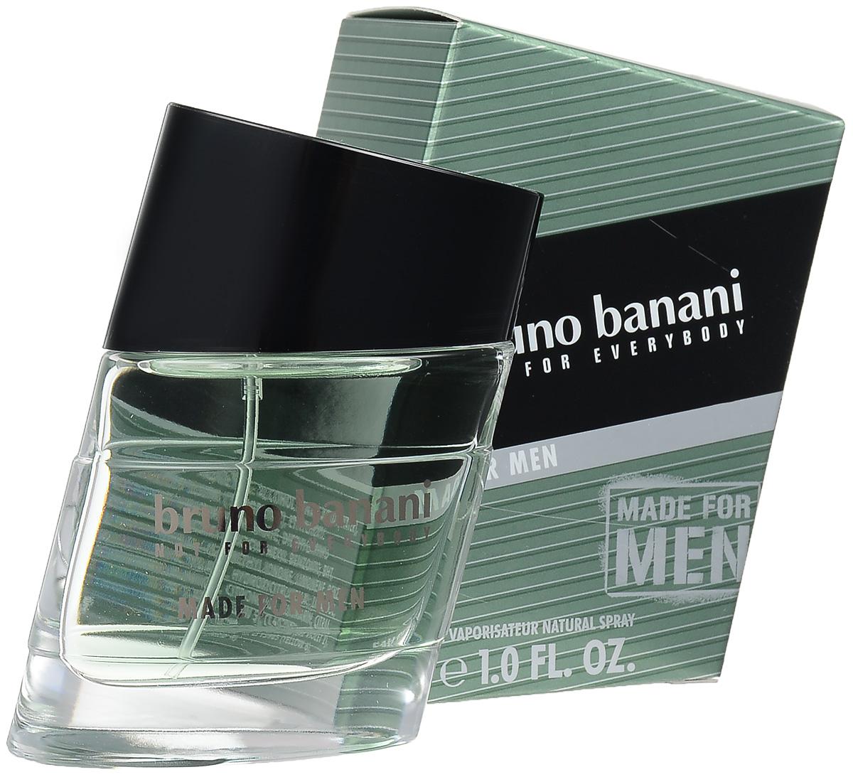 "Bruno Banani ""Made For Men"" Туалетная вода 30 мл (новая упаковка) 0730870139486"