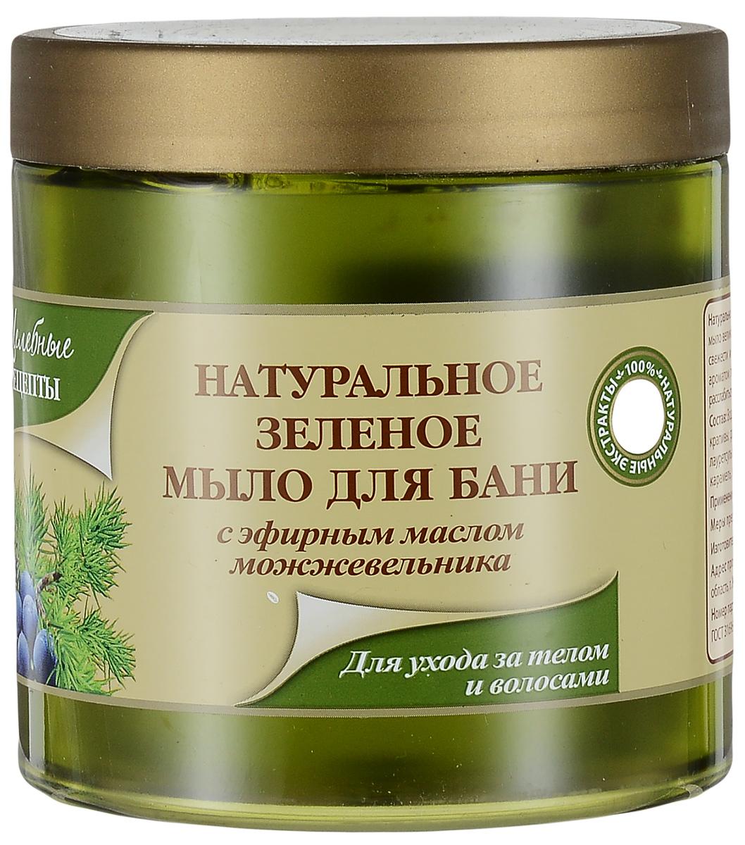 Целебные Рецепты Натуральное Зеленое мыло для бани для ухода за телом и волосами 500 мл.215-031-93419Натуральное таежное зеленое мыло, разработанное на основе естественных сапонинов, содержащихся в мыльном корне, обогащено экстрактами хвоща, крапивы, багульника болотного. Благодаря высокому содержанию масел пихты, сосны, кедрового ореха при использовании мыла создается эффект ароматерапии, который усиливается при применении мыла в бане. Все экстракты и масла полезны как для тела, так и для волос, благодаря чему наше мыло можно использовать как гель для душа и как шампунь для волос.