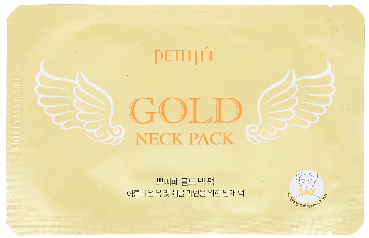 Petitfee Гидрогелевые маски для шеи Золото и EGF802995Гидрогелевые патчи выполнены в виде ангельских крыльев, что в точности повторяет очертания шеи и плотно прилегают и не смещаются. Входящий в состав аденозин возвращает коже молодость и красоту, а 24-каратное золото придает здоровый, сияющий и ровный тон коже.