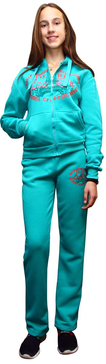 "Костюм спортивный женский ""Proffi Sport"", цвет: зеленый. PH7760. Размер M (44) PH7760greenM"