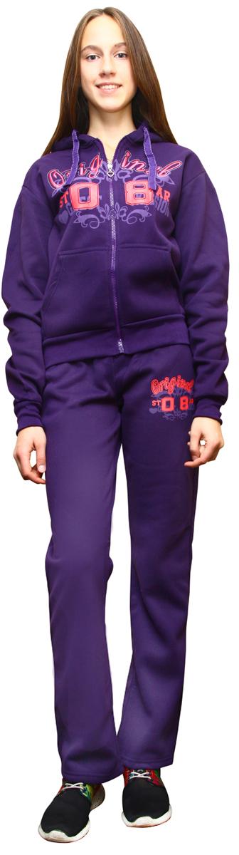 """Костюм спортивный женский """"Proffi Sport"""", цвет: фиолетовый. PH7760. Размер L (46) PH7760purpleL"""