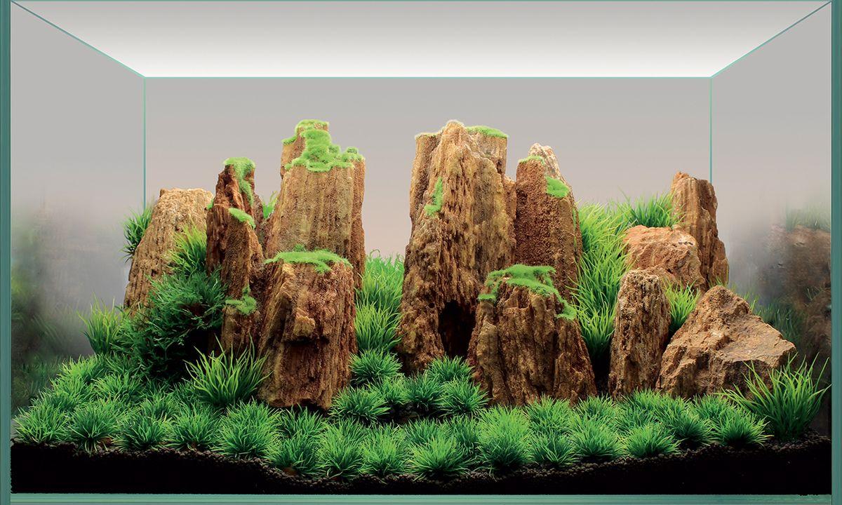 Набор декораций для аквариума ArtUniq Древние горы, 60 x 35 x 30 смART-4116850Набор декорация для аквариума ArtUniq Древние горы поможет вам создать из своего аквариума произведение искусства. Содержит около трех видов растений. Практичный элемент впишется в любой подводный пейзаж, превращая обычный аквариум в притягивающий внимание предмет интерьера. Каждый, кто увидит его, удивится резвящимся в нем рыбкам, которым больше никогда не будет скучно. Все компоненты этого украшения сделаны из химически нейтрального материала. Он не меняет состав и основные параметры воды, постоянно оставаясь безопасным для обитателей аквариума. Благодаря декорациям ArtUniq вы сможете смоделировать потрясающий пейзаж на дне вашего аквариума или террариума. Общий размер декорации (в собранном виде): 60 х 35 х 30 см. Высота растений: 3-12 см.