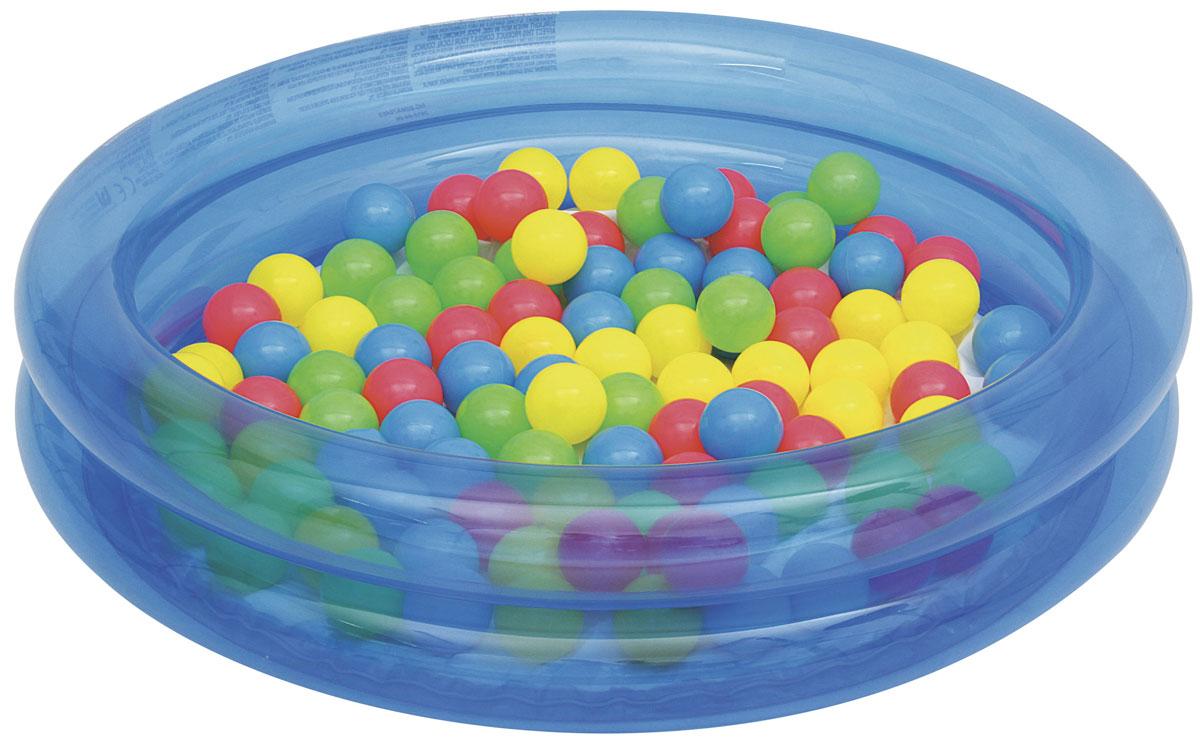 Bestway Надувной бассейн с 50 шариками. 51085_B51085_B