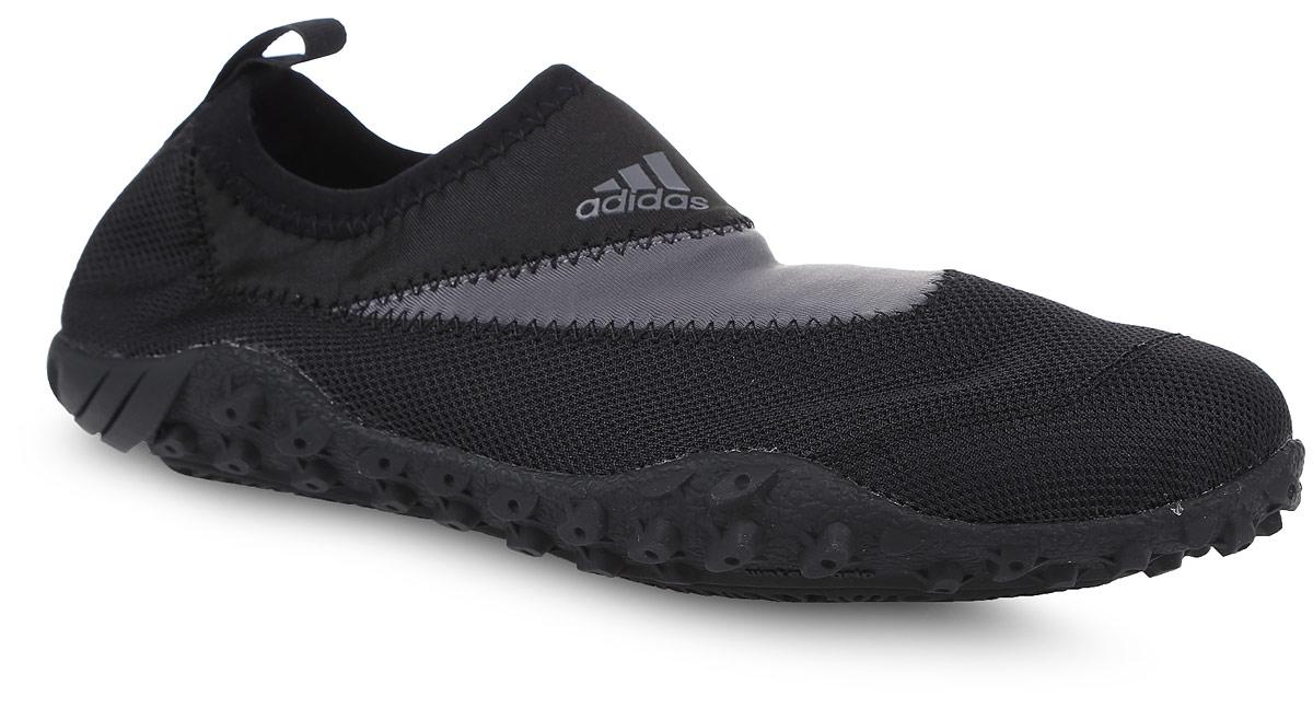 Обувь для кораллов adidas Climacool Kurobe, цвет: черный. BB1911. Размер 9 (42)BB1911Акваобувь adidas Performance выполнена из быстросохнущей дышащей нейлоновой сетки с технологией ClimaCool - для наилучшей вентиляции. Уникальная подошва из ЭВА со вставками ClimaCool - для максимальной вентиляции и дренажа. Подметка из прочной резиновой смеси.