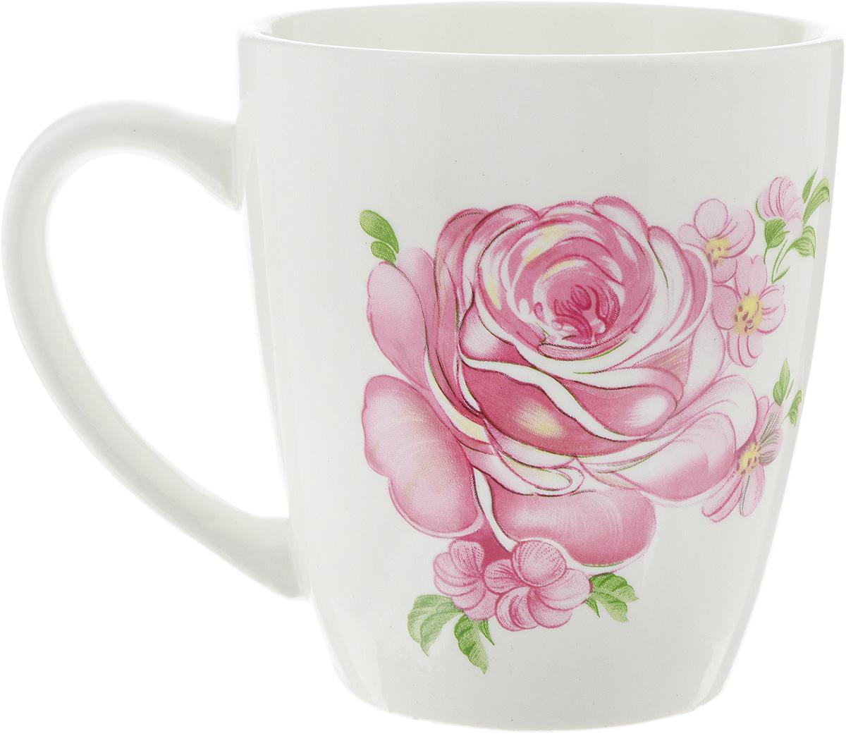 Кружка Кубаньфарфор Розовые розы, 220 мл0178_Розовые розыКружка Кубаньфарфор Розовые розы выполнена из высококачественного фаянса и оформлена изображением роз. Такая кружка станет отличным дополнением к сервировке семейного стола и замечательным подарком для ваших родных и друзей. Можно мыть в посудомоечной машине и использовать в микроволновой печи.