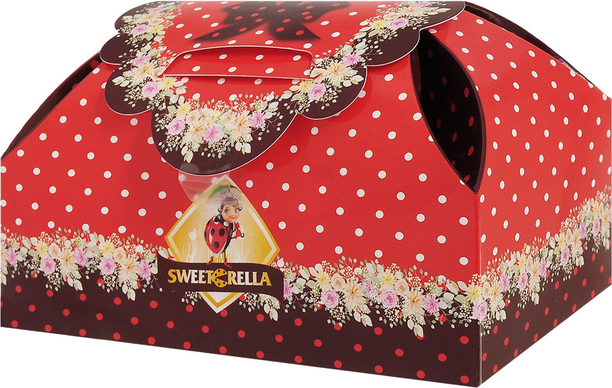 Sweeterella набор шоколадных конфет шкатулка сладостей, 155 гиба046Шкатулка с шоколадными конфетами в цветочном дизайне. Набор шоколадных конфет: - из темного шоколада с помадно-сливочной начинкой Клубника; - из молочного шоколада с помадно-сливочной начинкой Фисташка. Уважаемые клиенты! Обращаем ваше внимание, что полный перечень состава продукта представлен на дополнительном изображении.