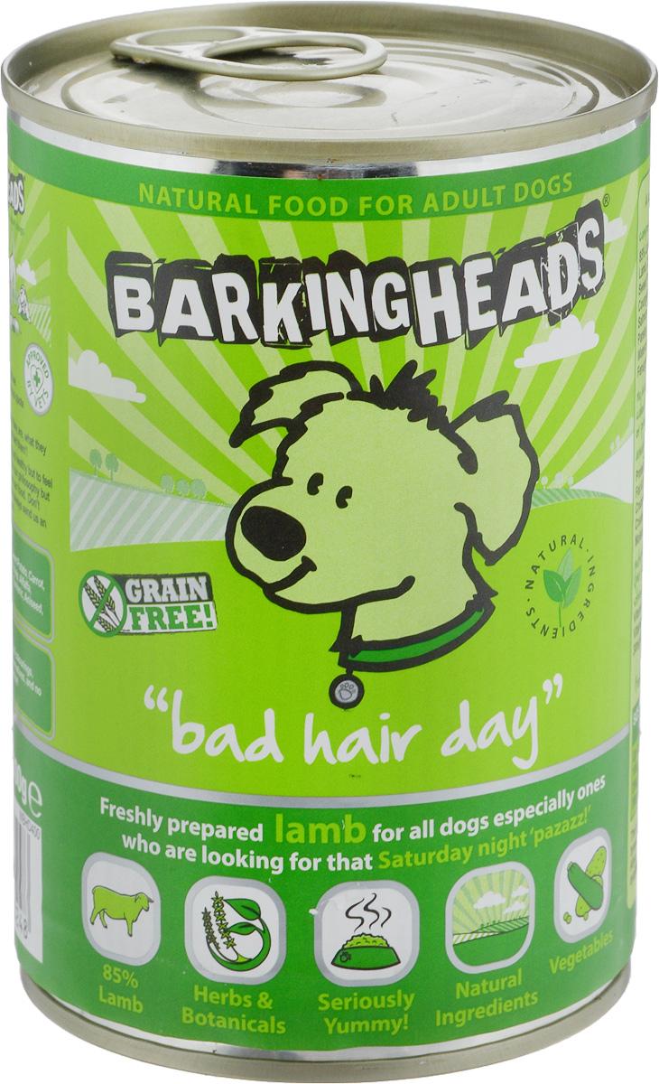 Консервы Barking Heads Роскошная шевелюра для собак, с ягненком, 400 г45201_новинкаBarking Heads Роскошная шевелюра - влажный мясной корм для взрослых собак всех пород. Консервы содержат свежеприготовленное мясо ягненка. Полнорационный продукт, содержащий все необходимые витамины и минералы, сбалансированный для поддержания оптимального здоровья вашего питомца! Товар сертифицирован.