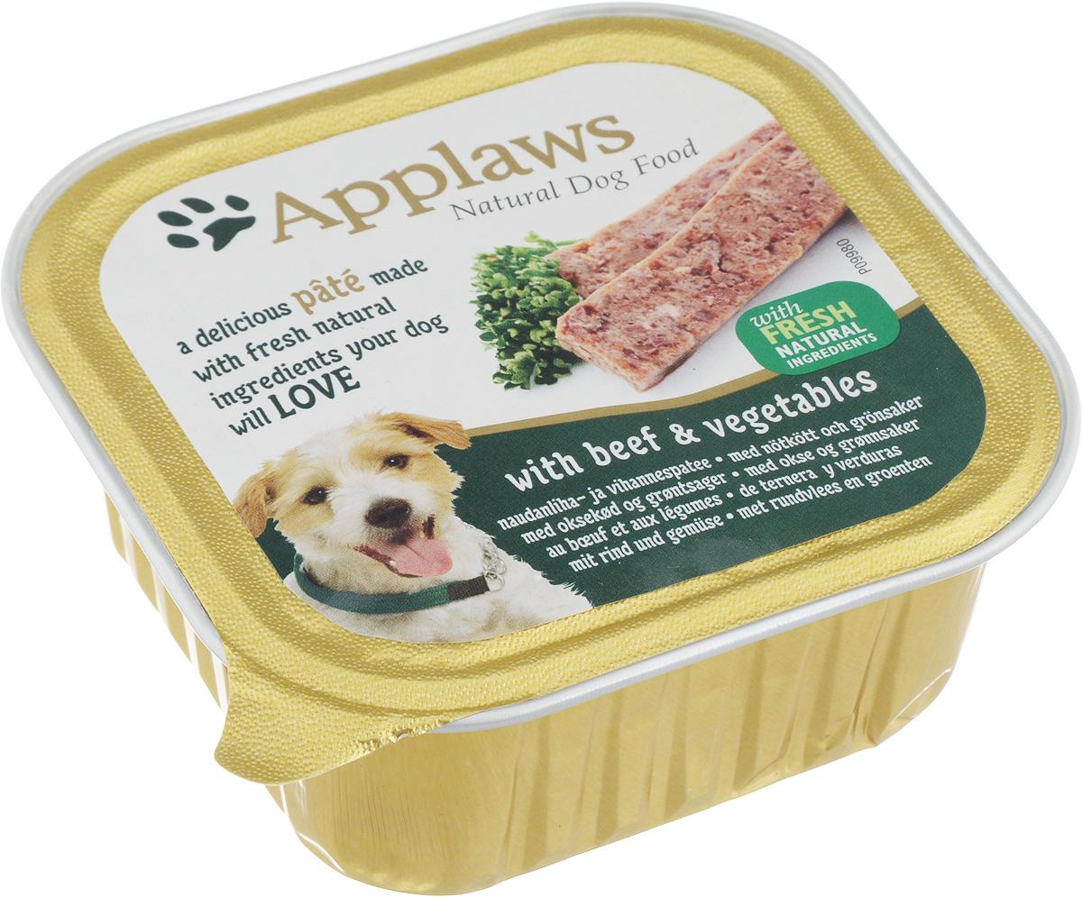 Консервы Applaws для взрослых собак, паштет с говядиной и овощами, 150 г10294Нежный паштет Applaws – это полнорационная порция мясного мусса с добавлением всех необходимых для собаки витаминов и минералов. Упаковка в виде алюминиевого контейнера прекрасно сохраняет качество ингредиентов и его непревзойденный вкус. Состав: мясо курицы, свинина, говядина 4%, мясо индейки, рыба, морковь 4%, горох 4%, витамины и минералы. Пищевые добавки: витамин D3 140 МЕ/кг, йодат кальция, безводный 0,47 мг/кг, сульфат цинка, моногидрат 34 мг/кг, сульфат меди (II), пентагидрат 2,0 мг/кг, оксид марганца 1,6 мг/кг. Гарантированный анализ: белки 10%, жиры 5,5%, клетчатка 0,2%, зола 2,3%, влага 82%. Товар сертифицирован.