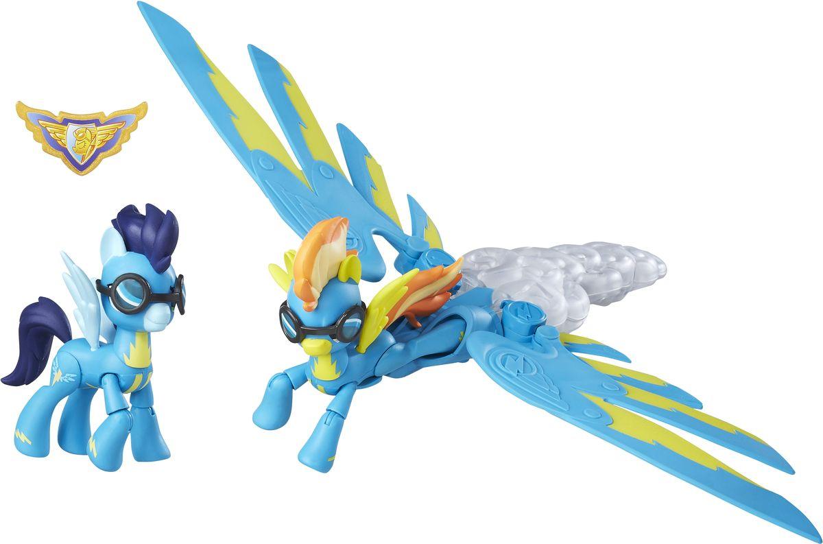 My Little Pony Игровой набор Хранители Гармонии Spitfire & Soarin B6011