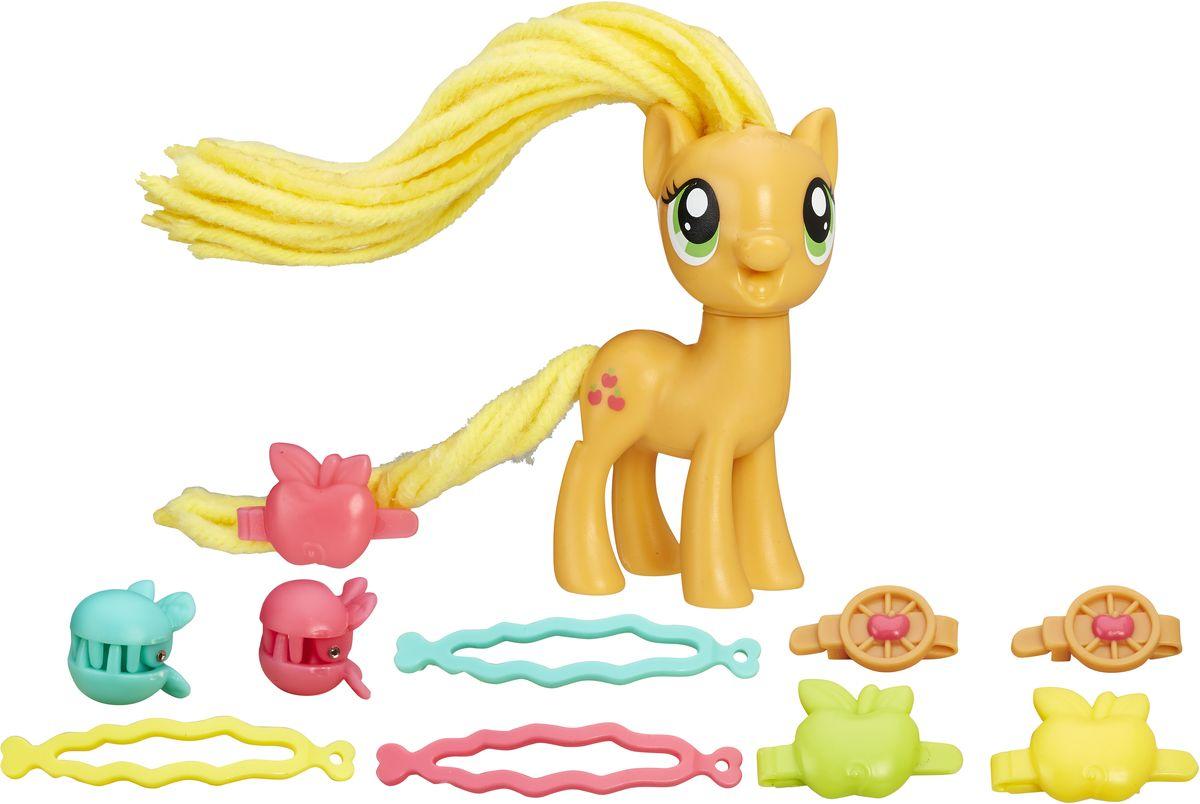My Little Pony Игровой набор Пони Applejack с праздничной прической