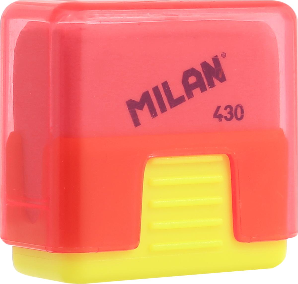 Milan Ластик School 430 цвет желтый красныйCMMS430_желтый/красныйЛастик Milan School 430 - это ластик с пластиковым держателем в эргономичном компактном корпусе. Заменяемый ластик.