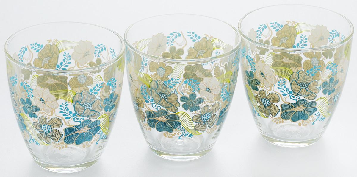 Набор стаканов Pasabahce Blue Dream, 285 мл, 3 шт52645B/D2Набор Pasabahce Blue Dream состоит из трех стаканов, выполненных из закаленного натрий-кальций-силикатного стекла. Изделия украшены изображением крупных цветов и прекрасно подойдут для подачи холодных напитков. Их оценят как любители классики, так и те, кто предпочитает современный дизайн. Набор идеально подойдет для сервировки стола и станет отличным подарком к любому празднику. Можно мыть в посудомоечной машине. Диаметр стакана (по верхнему краю): 8,3 см. Высота стакана: 9 см.