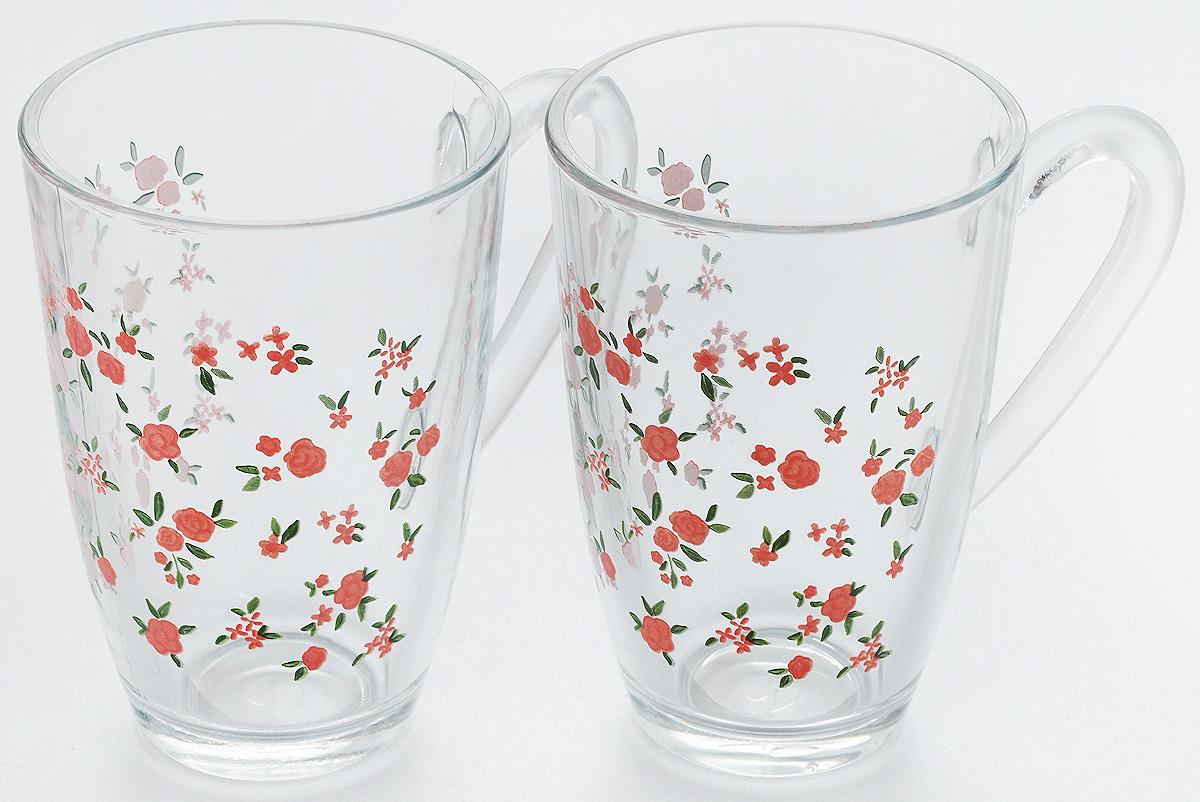 Набор кружек Pasabahce Provence, 330 мл, 2 шт55393BSНабор Pasabahce Provence состоит из двух кружек с удобными ручками, выполненных из прочного натрий- кальций-силикатного стекла. Кружки декорированы ярким изображением цветов. Изделия хорошо удерживают тепло, не нагреваются. На них не выгорает и не вымывается рисунок. Набор кружек Pasabahce прекрасно оформит праздничный стол и создаст приятную атмосферу за ужином. Такой набор также станет хорошим подарком к любому случаю. Можно мыть в посудомоечной машине.