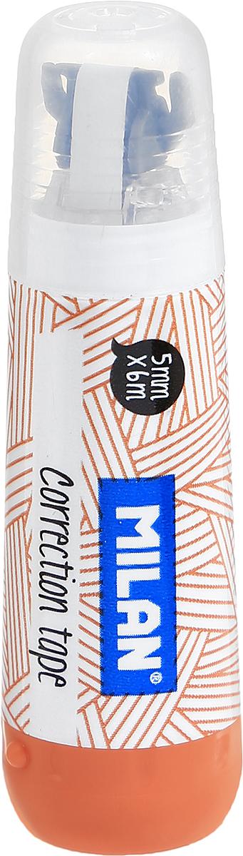Milan Корректирующая лента цвет оранжевый 5 х 6 мм