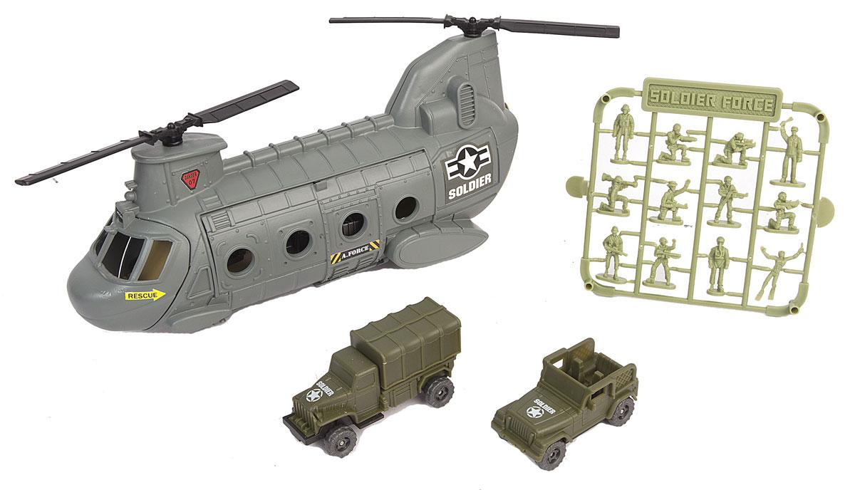 Chap Mei Игровой набор Нано-Армия Вертолет