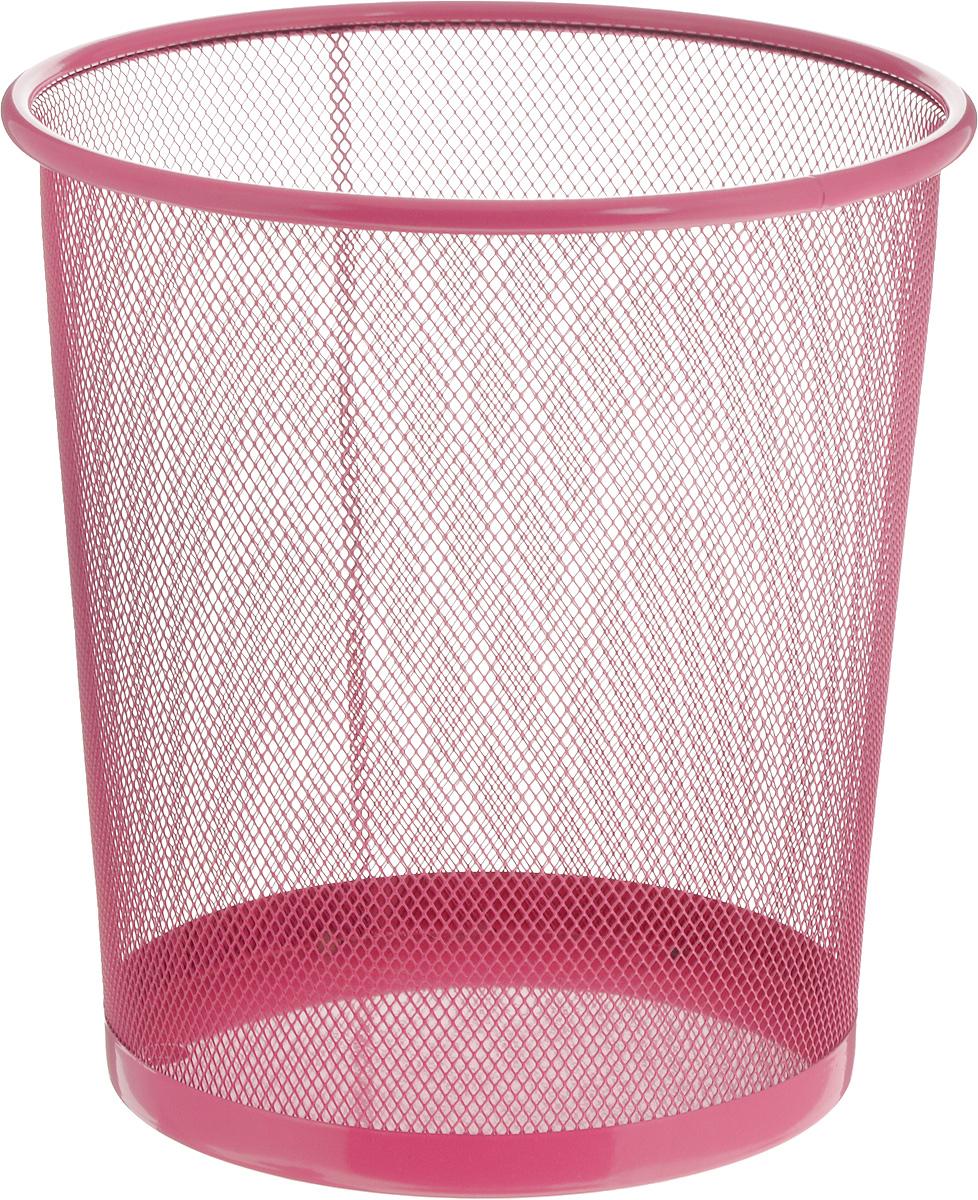 Корзина для мусора Zeller, цвет: розовый, 26 х 26 х 27,8 см17734_розовыйОригинальная корзина для мусора Zeller изготовлена из высококачественного металла. Такое изделие идеально подходит для использования как дома, так и в офисе. Корзина имеет сплошное дно, а стенки изделия оформлены перфорацией в виде сетки. Стильный дизайн и яркая расцветка прекрасно подойдут для любого интерьера. Диаметр (по верхнему краю): 26 см. Высота: 27,8 см.