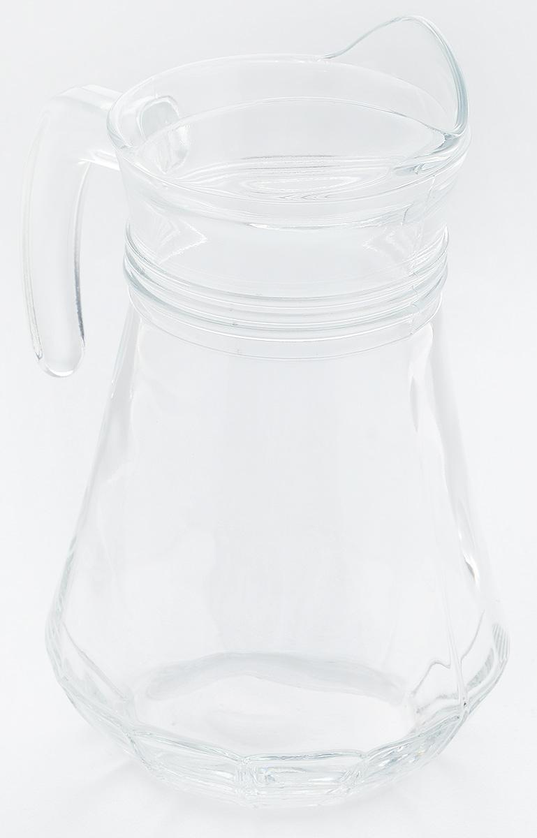 Кувшин Pasabahce Casablanca, 1,14 л43614BКувшин Pasabahce Casablanca, выполненный из прочного стекла, элегантно украсит ваш стол. Кувшин прекрасно подойдет для подачи воды, сока, компота и других напитков. Изделие оснащено ручкой и специальным носиком для удобного выливания жидкости. Совершенные формы и изящный дизайн, несомненно, придутся по душе любителям классического стиля. Кувшин Pasabahce Casablanca дополнит интерьер вашей кухни и станет замечательным подарком к любому празднику. Можно мыть в посудомоечной машине. Диаметр кувшина по верхнему краю (без учета носика): 9 см. Высота кувшина: 22 см.