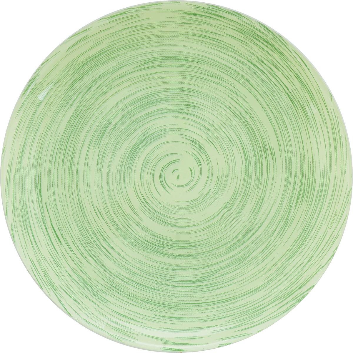 Тарелка десертная Luminarc Stonemania Pistache, диаметр 20 смJ2125Десертная тарелка Luminarc Stonemania Pistache, изготовленная из высококачественного стекла, имеет изысканный внешний вид. Такая тарелка прекрасно подходит как для торжественных случаев, так и для повседневного использования. Идеальна для подачи десертов, пирожных, тортов и многого другого. Она прекрасно оформит стол и станет отличным дополнением к вашей коллекции кухонной посуды. Диаметр тарелки: 20 см. Высота тарелки: 1,5 см.