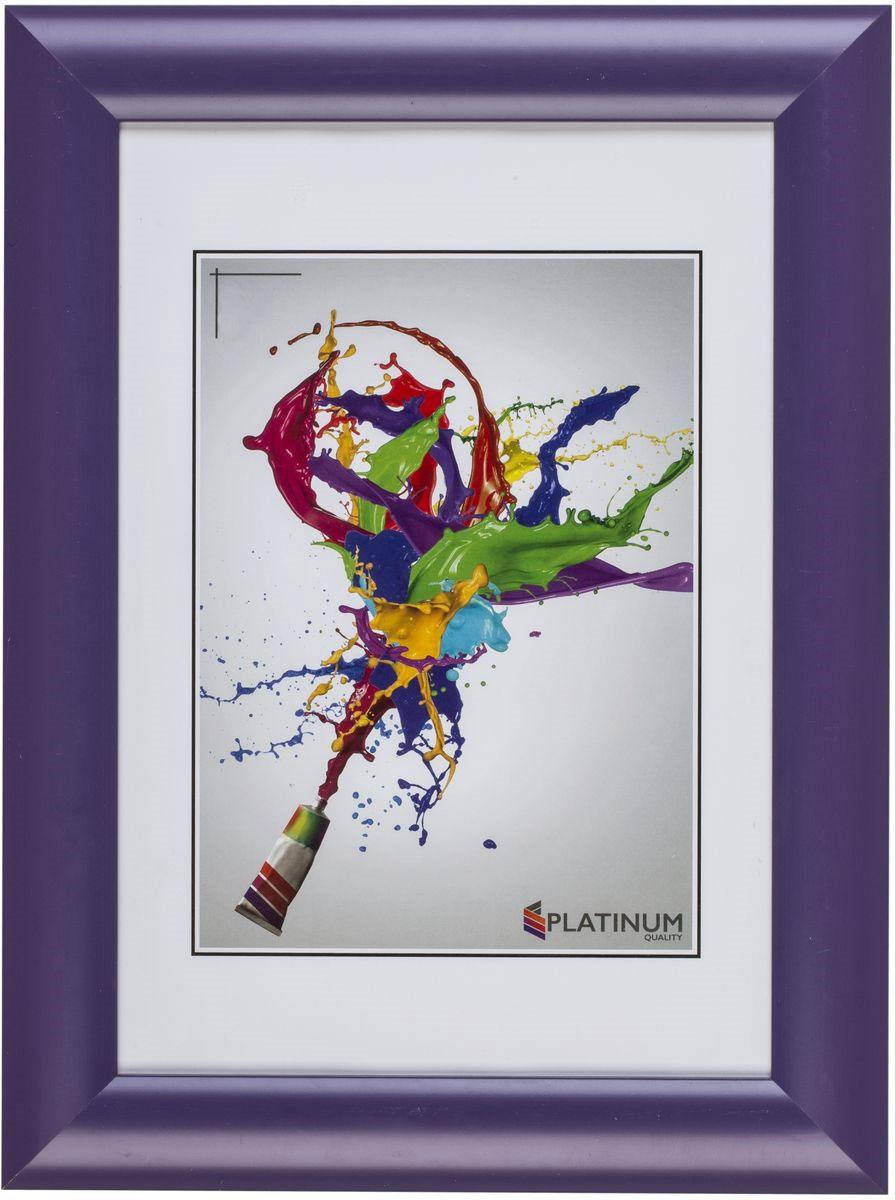 Фоторамка Platinum Аркола, цвет: фиолетовый, 10 x 15 смPlatinum JW2-007-006 АРКОЛА-ФИОЛЕТОВЫЙ 10x15