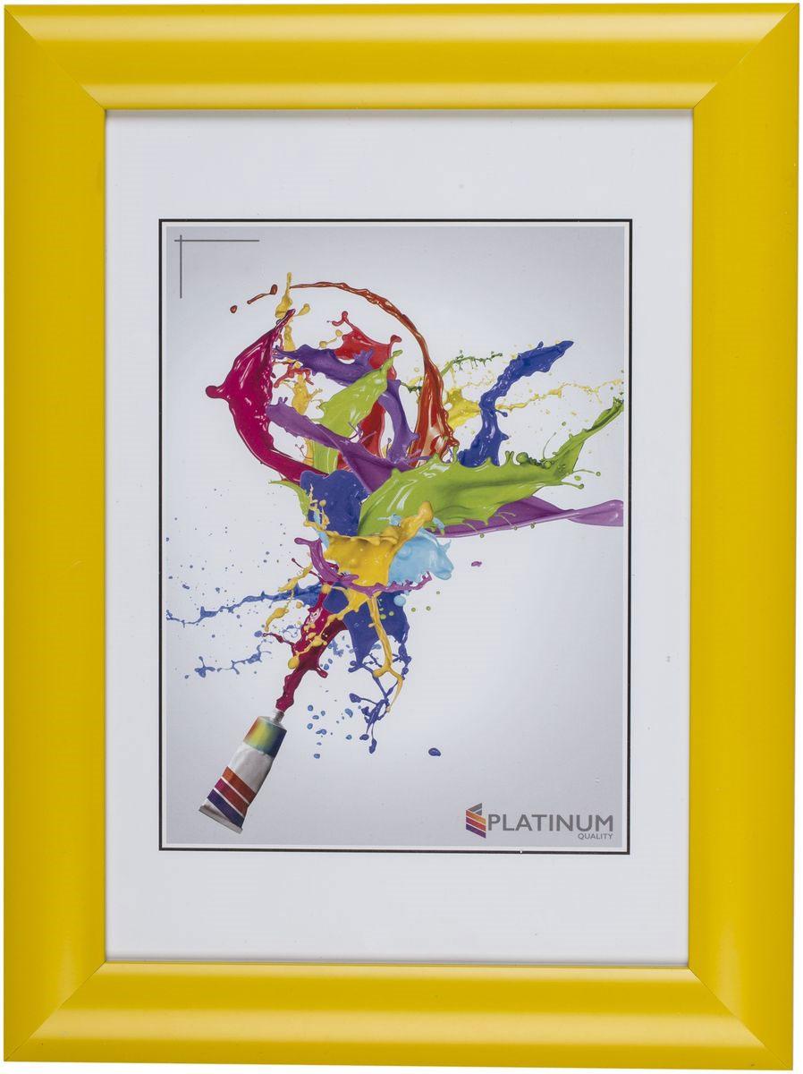 Фоторамка Platinum Аркола, цвет: желтый, 15 x 21 смPlatinum JW2-018 АРКОЛА-ЖЁЛТЫЙ 15x21