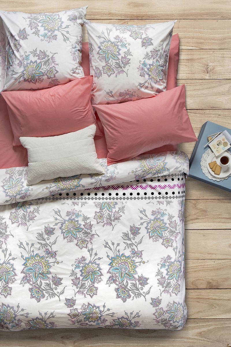 Комплект белья Sova & Javoronok Магнолия, 1,5-спальный, наволочки 50x7002030816241Наша коллекция постельного белья Sova & Javoronok «Ароматика» была вдохновлена разнообразными ароматами природы, каждый из которых имеет свои особенности и уникальные ноты
