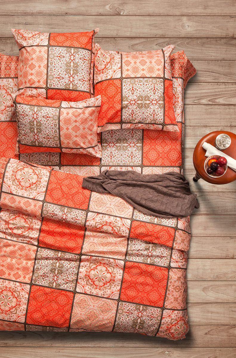 Комплект белья Sova & Javoronok Шафран, семейный, наволочки 70x7002030816314Наша коллекция постельного белья Sova & Javoronok «Ароматика» была вдохновлена разнообразными ароматами природы, каждый из которых имеет свои особенности и уникальные ноты