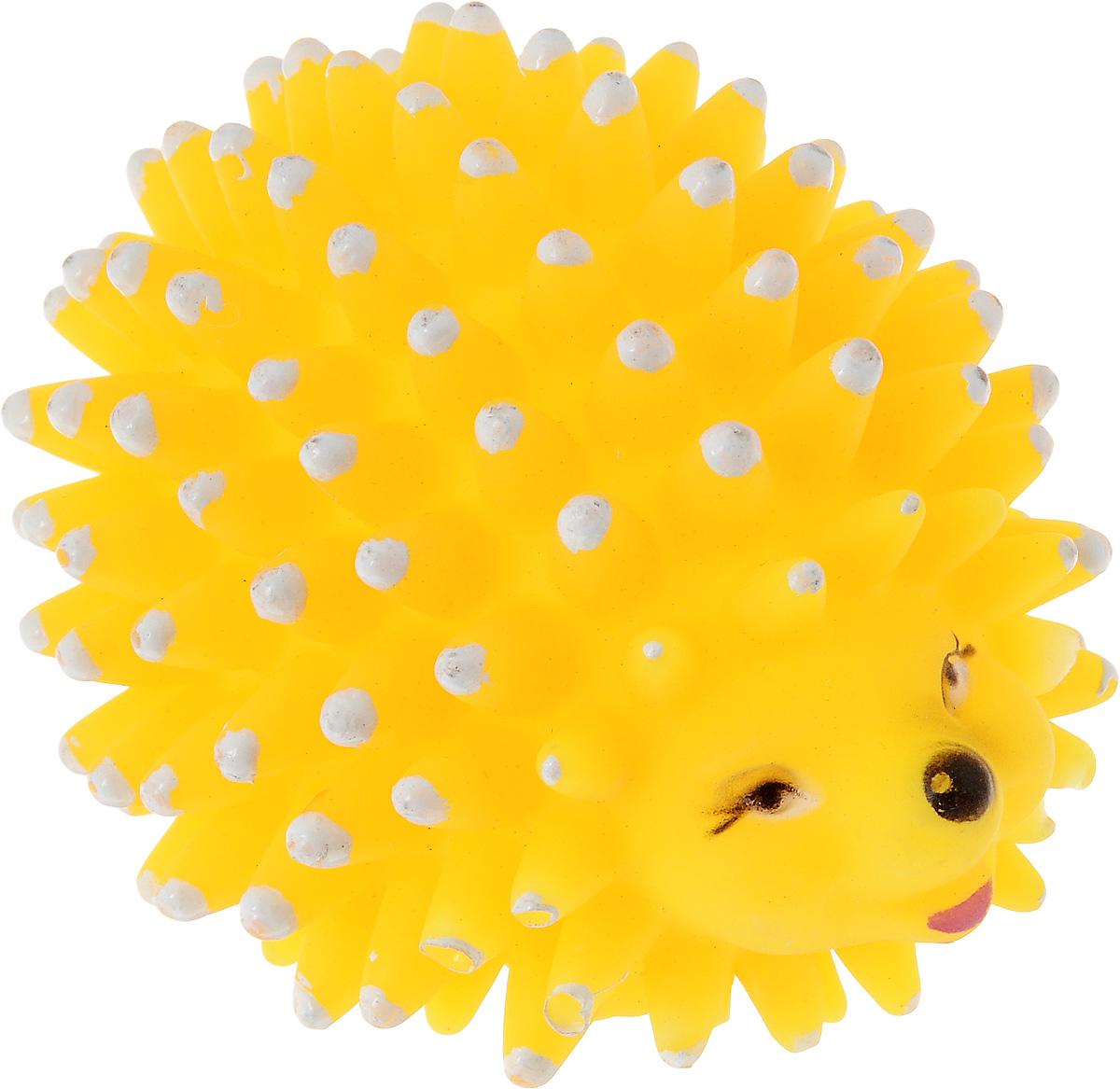 Игрушка для собак Zoobaloo Еж, с пищалкой, длина 8 см321Игрушка для собак Zoobaloo Еж выполнена из прочной резины. Изделие дополнено пищалкой, которая вызовет повышенный интерес у вашего питомца. Такая игрушка порадует вашего любимца, а вам доставит массу приятных эмоций, ведь наблюдать за игрой всегда интересно и приятно. УВАЖАЕМЫЕ КЛИЕНТЫ! Обращаем ваше внимание на возможные изменения в цветовом дизайне, связанные с ассортиментом продукции. Поставка осуществляется в зависимости от наличия на складе.