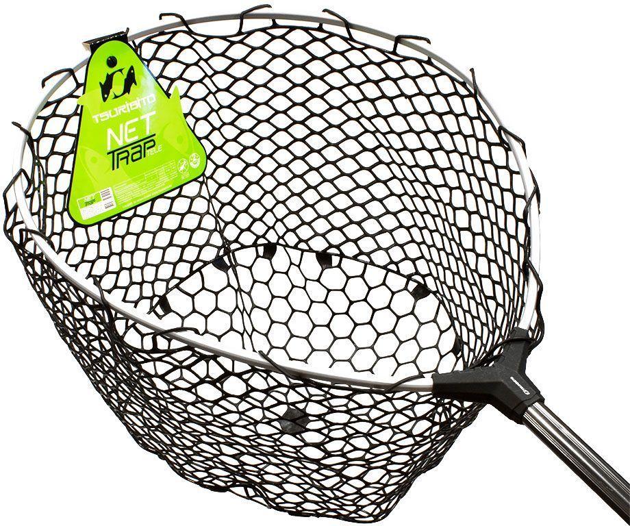 Подсачек Tsuribito Net Trap Tele, c силиконовой сеткой, телескопический, 140-250 х 46 х 46 см67943Универсальный подсак с силиконовой сеткой. Применяется для вытаскивания рыбы без повреждения снастей и самого улова. Подсак отлично справляется с большими нагрузками благодаря наличию ручки из высокопрочного материала. При переноске подсак очень удобен, занимает мало места. Сочетает в себе комфорт и удобство для максимально эффективных результатов рыбной ловли.