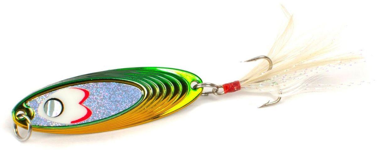 Блесна Yoshi Onyx Yalu Must, 7,5 г, цвет: GG (желтый, зеленый)95Блесна Yoshi Onyx Yalu Must - уникальная, изготовленная с ювелирной точностью, выделяющаяся тщательно рассчитанным и скрупулёзно проверенным, сложным, многогранным профилем, приманка для ловли рыбы. Устойчивые колебания, без остановок и свалов, и отменные баллистические характеристики Must позволяет облавливать как обширные водные акватории так и быстро текущие потоки.