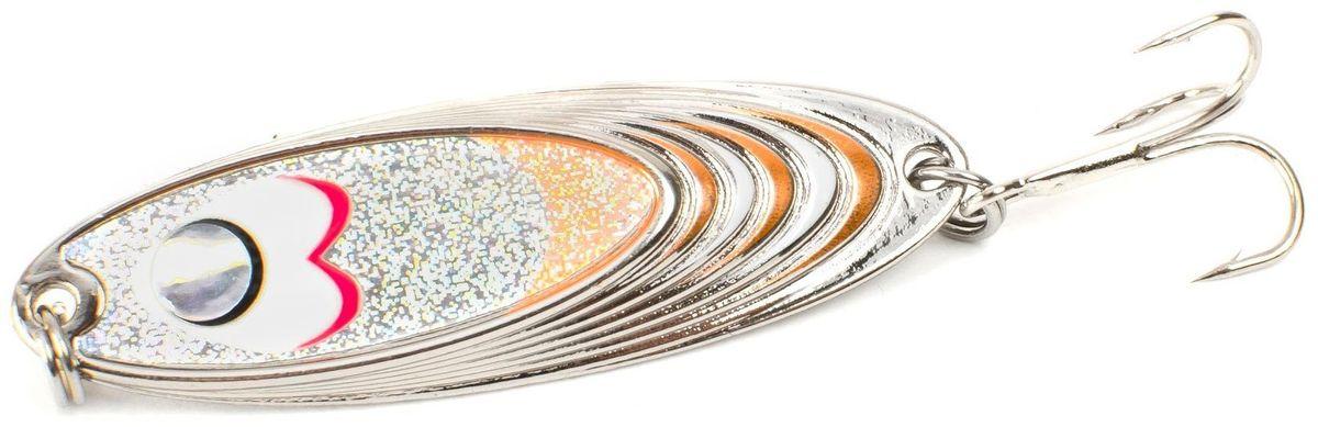 Блесна Yoshi Onyx Yalu Must, 15 г, цвет: 4 (белый, оранжевый)95665Блесна Yoshi Onyx Yalu Must - уникальная, изготовленная с ювелирной точностью, выделяющаяся тщательно рассчитанным и скрупулёзно проверенным, сложным, многогранным профилем, приманка для ловли рыбы. Устойчивые колебания, без остановок и свалов, и отменные баллистические характеристики Must позволяет облавливать как обширные водные акватории так и быстро текущие потоки.