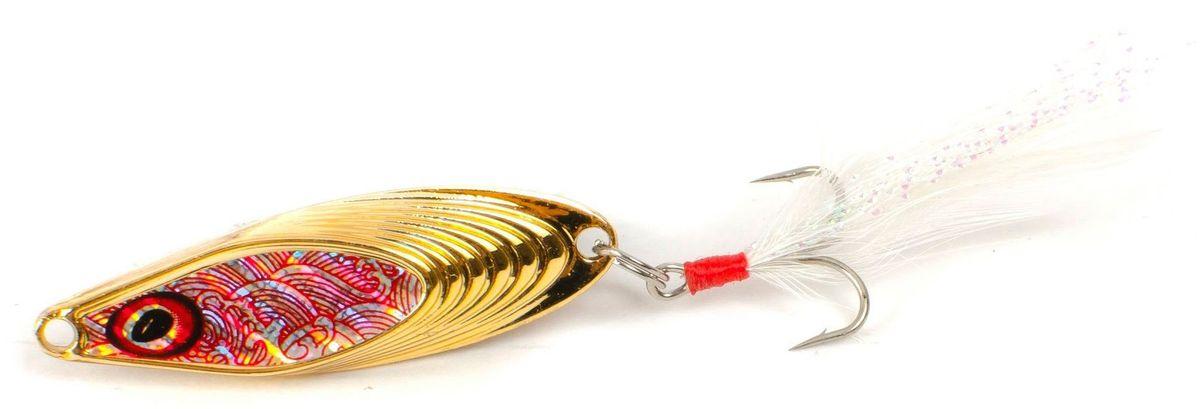 Блесна Yoshi Onyx Yalu Nose, 3,5 г, цвет: 1 (золотой)95677Блесна Yoshi Onyx Yalu Nose имеет уникальную геометрию, что открывает бесконечный простор для творчества. Возможны практически любые анимации. Ритмичная размеренная пульсация, на скоростной прямой проводке, имитирует убегающую в панике рыбку, хаотическое качание из стороны в сторону, на рывковой ступенчатой проводке, напоминают деловитую суету, кормящегося малька, а нервный трепет, при свободном падении, довольно точно, воспроизводит движения резвящейся в толще воды молоди.