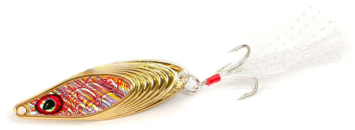 Блесна Yoshi Onyx Yalu Nose, 7,5 г, цвет: 1 (золотой)95682Блесна Yoshi Onyx Yalu Nose имеет уникальную геометрию, что открывает бесконечный простор для творчества. Возможны практически любые анимации. Ритмичная размеренная пульсация, на скоростной прямой проводке, имитирует убегающую в панике рыбку, хаотическое качание из стороны в сторону, на рывковой ступенчатой проводке, напоминают деловитую суету, кормящегося малька, а нервный трепет, при свободном падении, довольно точно, воспроизводит движения резвящейся в толще воды молоди.