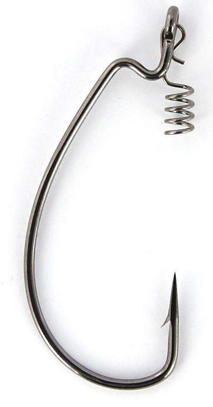 Крючки офсетные Yoshi Onyx Offset Hook Magna Big Eye, HD 1/0, с пружинкой, 5 шт96271Офсетные кованные крючки Yoshi Onyx Offset Hook Magna Big Eye с химической заточкой выполнены из высококачественной стали. Но острота и прочность это не главные их достоинства. Во-первых, крючки спроектированы с увеличенным ушком, благодаря чему, теперь не придется тщательно выбирать для них разборный груз. Даже самая толстая проволока любой чебурашки с легкостью пройдет в ушко. Это обеспечит подвижность и легкость шарнирного монтажа. А во-вторых, производитель положил в упаковку еще и волшебный бонус - пружинки для монтажа силиконовых приманок. Пружинки нужны для того, чтобы при поклевках приманка, как это частенько бывает не измочаливалась и не рвалась. Наши эксперты заметили, что при монтаже силикона на пружину, приманка живет в несколько раз дольше, чем при ее классическом монтаже на офсетный крючок.