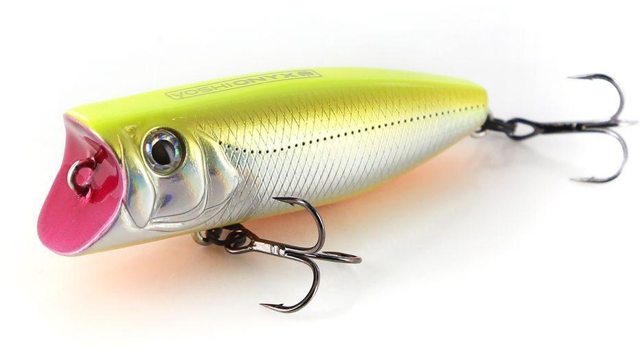 Воблер Yoshi Onyx Pop 60. Y-309 (желтый, стальной)96487Новый уловистый воблер Yoshi Onyx Pop 60 – это поверхностная приманка универсального размера. Толстенький поппер пришёлся по вкусу окуню, жереху и щуке он способен спровоцировать даже пассивную рыбу. Благодаря мощной плевалке, хищник услышит приманку с больших расстояний сам покинет укрытие и найдет приманку. Воблеры этой серии оснащаются двумя острыми и надежными тройными крючками Owner, и на которые отлично ловится хищная рыба наших водоемов.