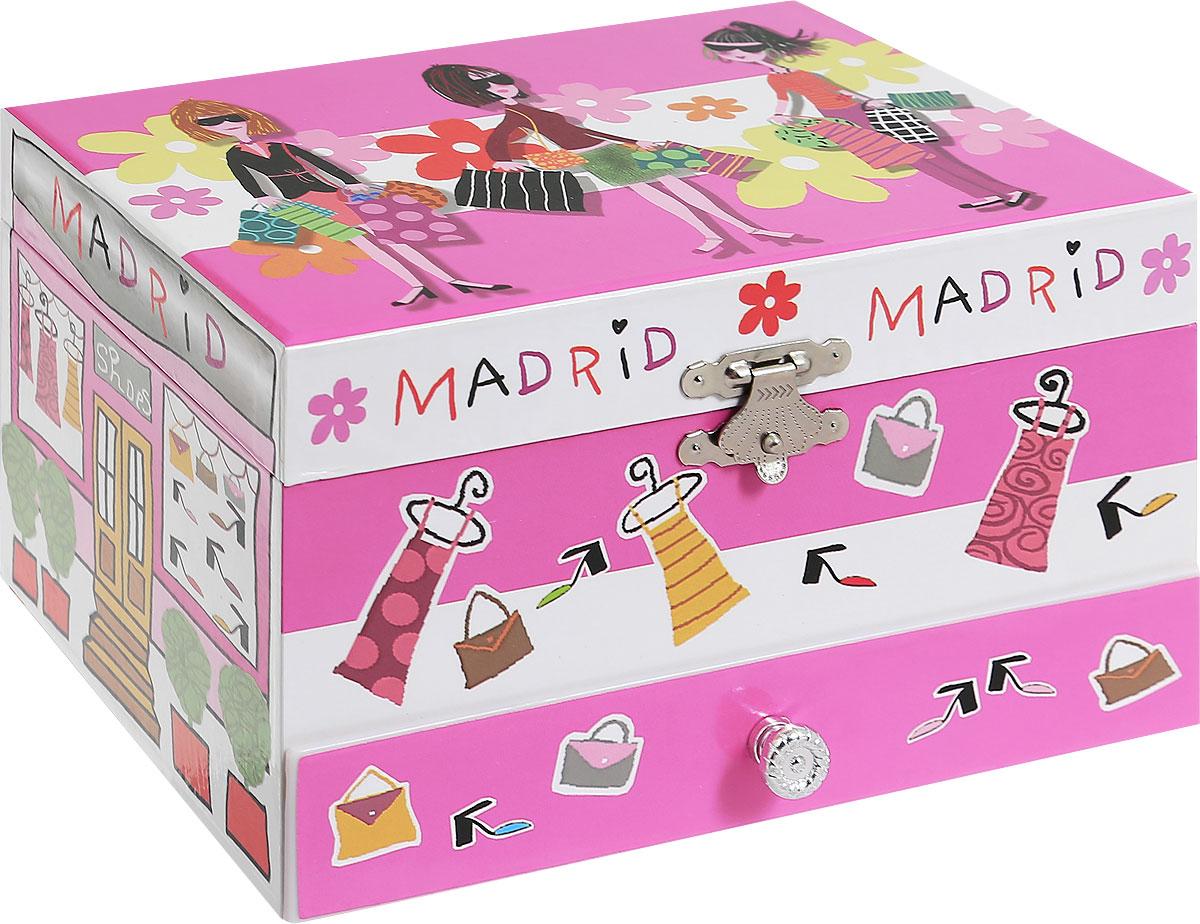 Jakos Музыкальная шкатулка Шоппинг в Мадриде