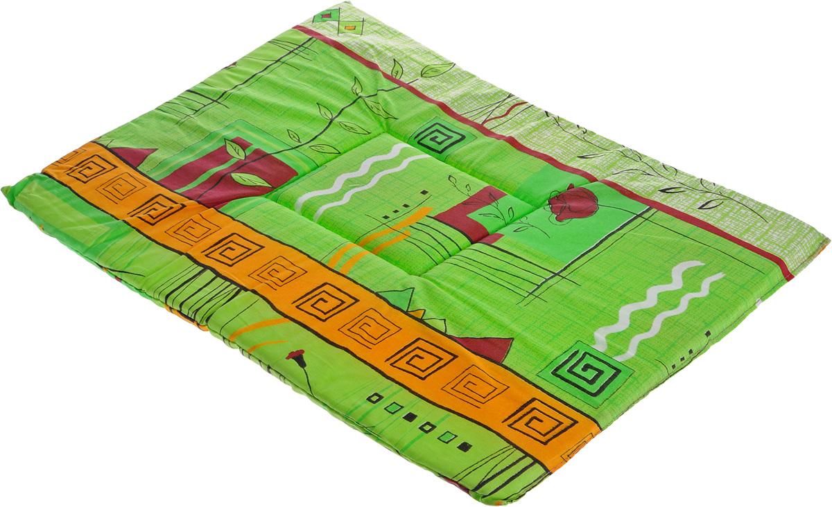 Лежак для животных Elite Valley Матрасик, цвет: салатовый, оранжевый, 40 х 55 см. Л-7/4Л-7/4_салатовый, оранжевыйЛежак для животных Elite Valley Матрасик изготовлен из высококачественной бязи, наполнитель - поролон. Идеален для переносок и использования в автомобиле. Он станет излюбленным местом вашего питомца, подарит ему спокойный и комфортный сон. Высота матраса: 2 см.