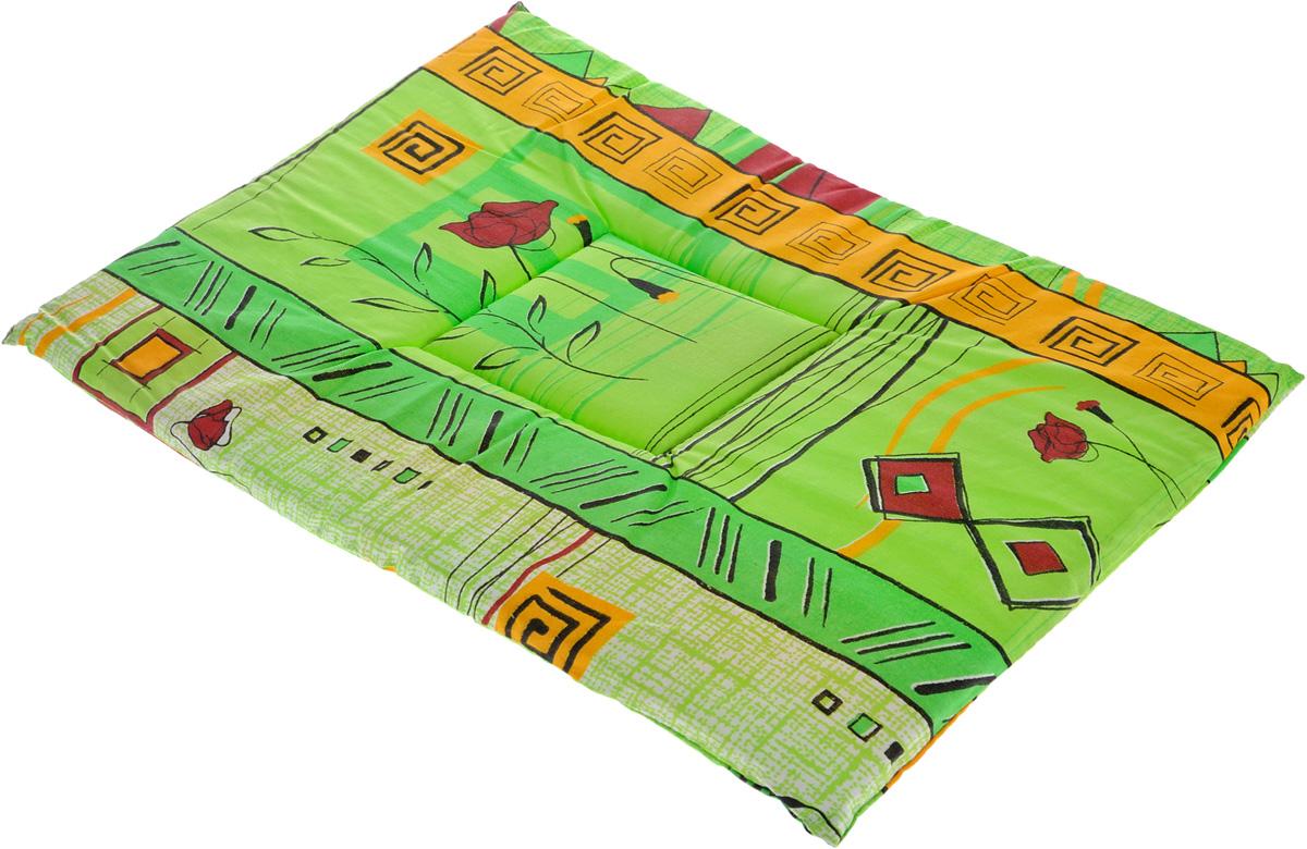 Лежак для животных Elite Valley Матрасик, цвет: салатовый, оранжевый, 35 х 50 см. Л-7/3Л-7/3_салатовый, оранжевыйЛежак для животных Elite Valley Матрасик изготовлен из высококачественной бязи, наполнитель - поролон. Идеален для переносок и использования в автомобиле. Он станет излюбленным местом вашего питомца, подарит ему спокойный и комфортный сон. Высота матраса: 2 см.