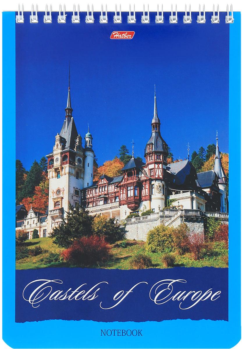 Hatber Блокнот Castles of Europe 60 листов в клетку 14218