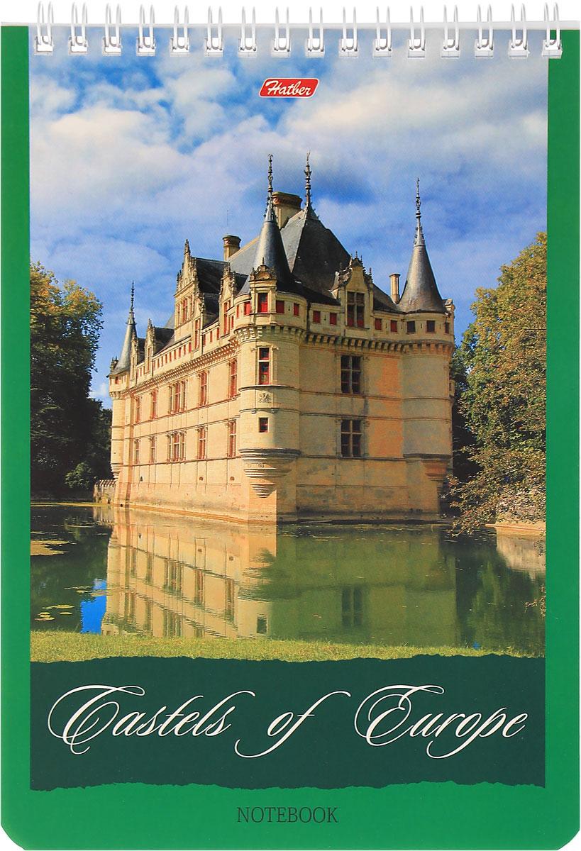 Hatber Блокнот Castles of Europe 60 листов в клетку 10409