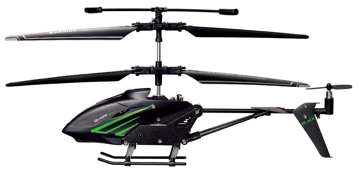 1TOY Квадрокоптер на радиоуправлении Gyro-109 Black Edition