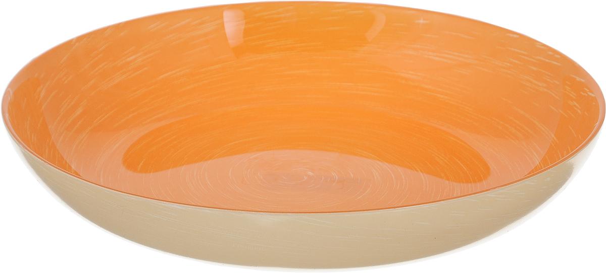 Тарелка суповая Luminarc Stonemania Orange, диаметр 20 смH3558Суповая тарелка Luminarc Stonemania Orange выполнена из ударопрочного стекла и имеет изысканный внешний вид. Изделие сочетает в себе изысканный дизайн с максимальной функциональностью. Она прекрасно впишется в интерьер вашей кухни и станет достойным дополнением к кухонному инвентарю. Тарелка Luminarc Stonemania Orange подчеркнет прекрасный вкус хозяйки и станет отличным подарком. Диаметр тарелки: 20 см. Высота тарелки: 2,5 см.