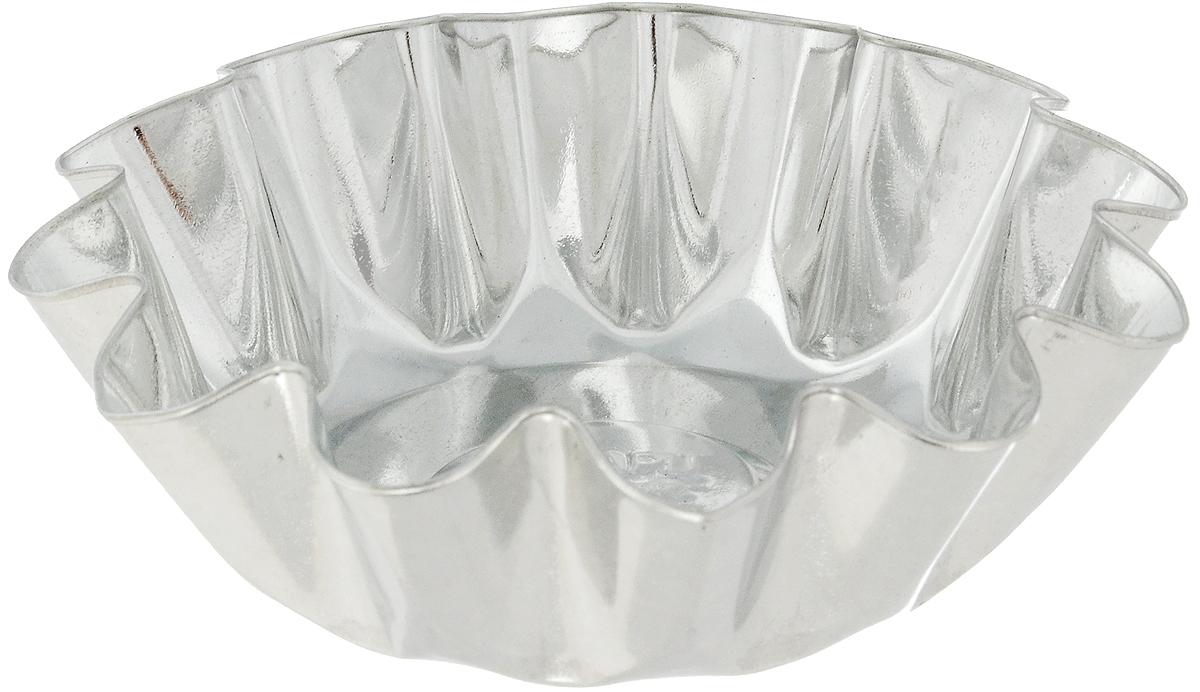 Форма для выпечки Кварц, диаметр 11,1 смКФ-06.000Форма Кварц, выполненная из белой жести, предназначена для выпечки и приготовления желе. Стенки изделия рельефные. С формой Кварц вы всегда сможете порадовать своих близких оригинальной выпечкой. Диаметр формы (по верхнему краю): 11,1 см. Высота формы: 3,6 см.
