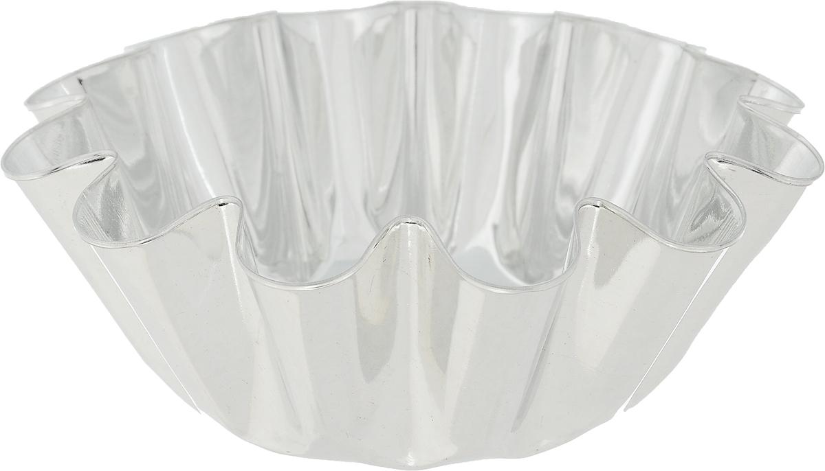 Форма для выпечки Кварц, диаметр 12,2 смКФ-07.000Форма Кварц, выполненная из белой жести, предназначена для выпечки и приготовления желе. Стенки изделия рельефные. С формой Кварц вы всегда сможете порадовать своих близких оригинальной выпечкой. Диаметр формы (по верхнему краю): 12,2 см. Высота формы: 4,6 см.