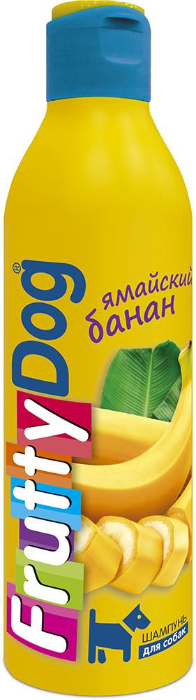 Шампунь для собак АВЗ FruttyDog. Ямайский банан, 250 мл65136Шампунь для собак с ярким ароматом банана, подходит ля частого применения