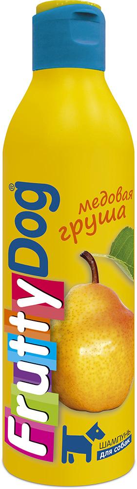 Шампунь для собак АВЗ FruttyDog. Медовая груша, 250 мл65138Шампунь для собак с ярким ароматом груши, подходит ля частого применения