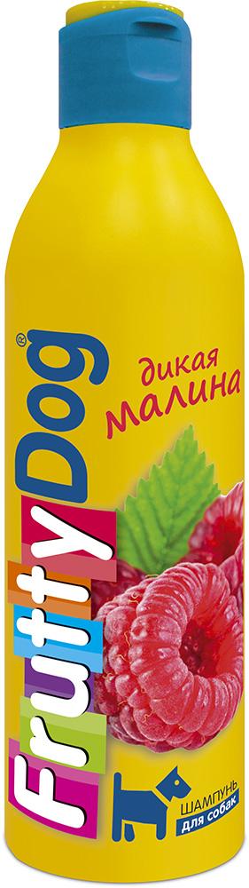 Шампунь для собак АВЗ FruttyDog. Дикая малина, 250 мл65139Шампунь для собак с ярким ароматом малины, подходит ля частого применения