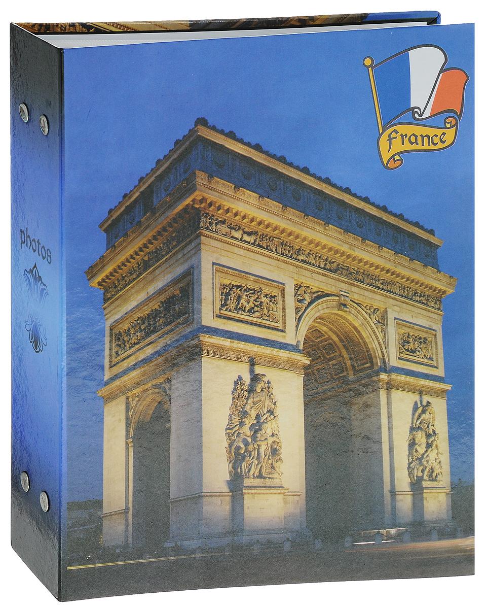 Фотоальбом Euro Album, 200 фотографий, 10 х 15 см20243 PP-46200Фотоальбом Euro Album поможет красиво оформить ваши фотографии. Обложка выполнена из толстого картона и декорирована оригинальным рисунком. Внутри содержится блок из 50 белых листов с фиксаторами-окошками из полипропилена. Альбом рассчитан на 200 фотографий формата 10 х 15 см (по 2 фотографии на странице). Переплет - книжный. Нам всегда так приятно вспоминать о самых счастливых моментах жизни, запечатленных на фотографиях. Поэтому фотоальбом является универсальным подарком к любому празднику. Количество листов: 50.