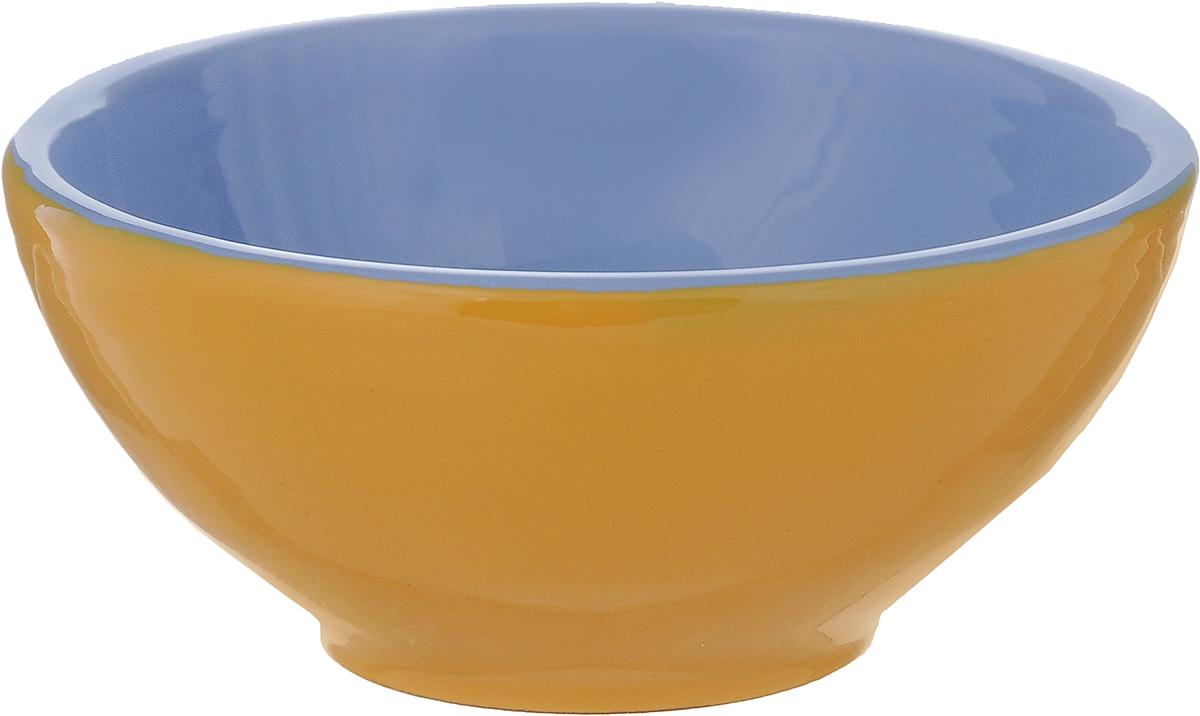 Розетка для варенья Борисовская керамика Радуга, цвет: желтый, голубой, 200 млРАД00000513_желтый, голубойРозетка для варенья Борисовская керамика Радуга изготовлена из высококачественной керамики. Изделие отлично подойдет для подачи на стол меда, варенья, соуса, сметаны и многого другого. Такая розетка украсит ваш праздничный или обеденный стол, а яркое оформление понравится любой хозяйке. Можно использовать в духовке и микроволновой печи. Диаметр (по верхнему краю): 10 см. Высота: 4,5 см. Объем: 200 мл.